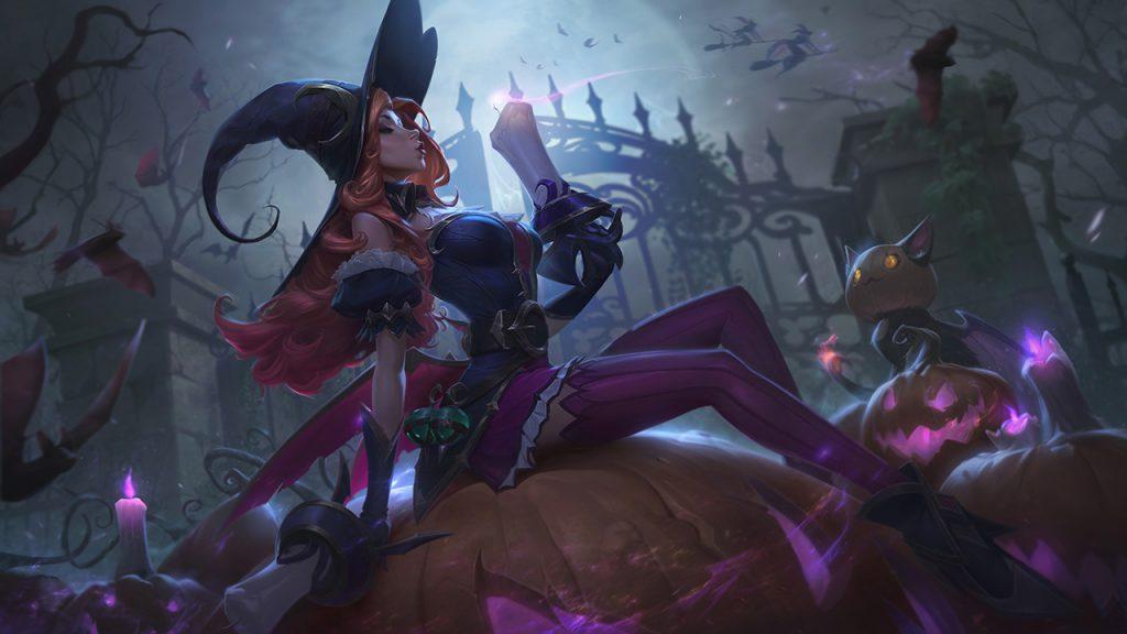 Miss Fortune Halloween