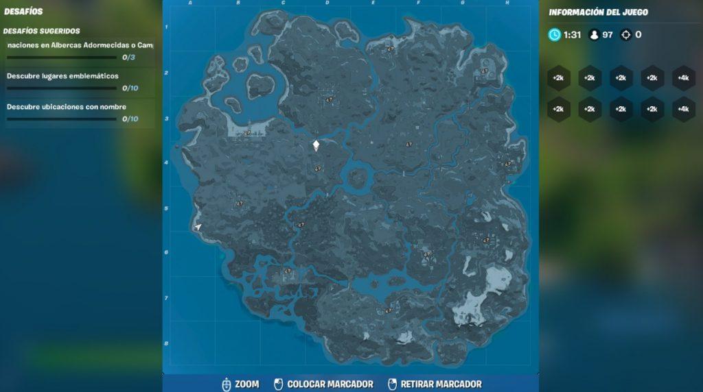 mapa desconocido Fortnite 2