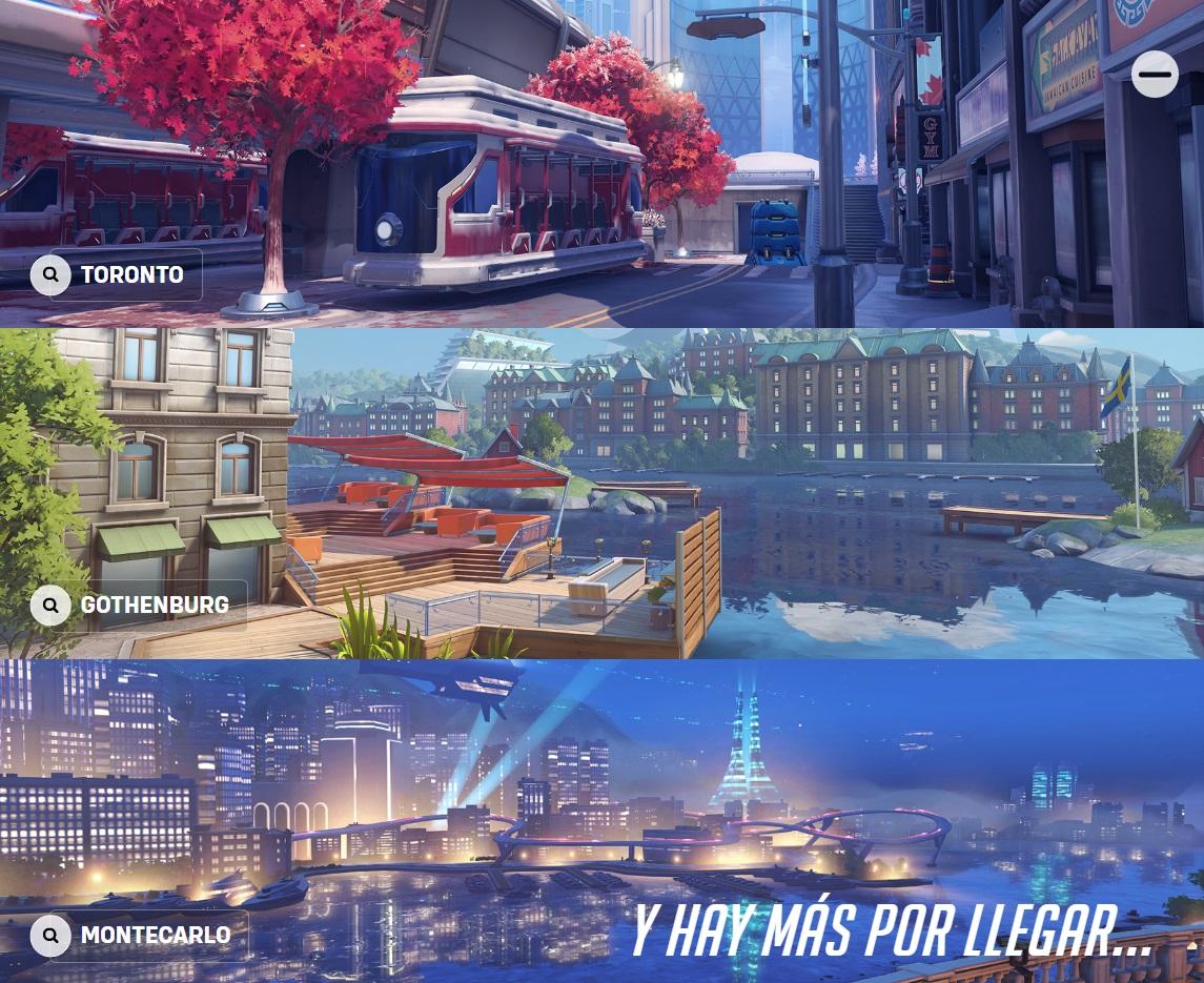 mapas Overwatch 2
