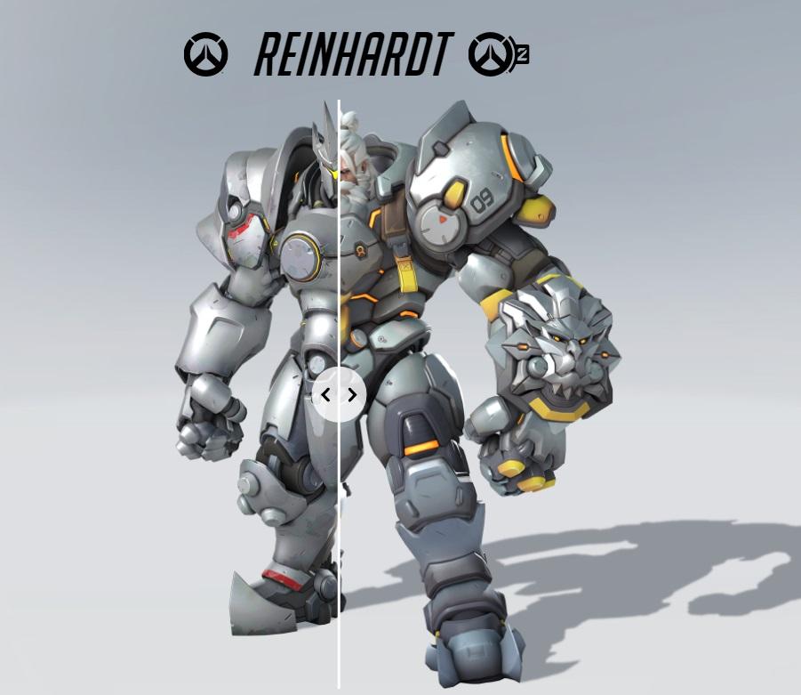 reinhardt Overwatch 2
