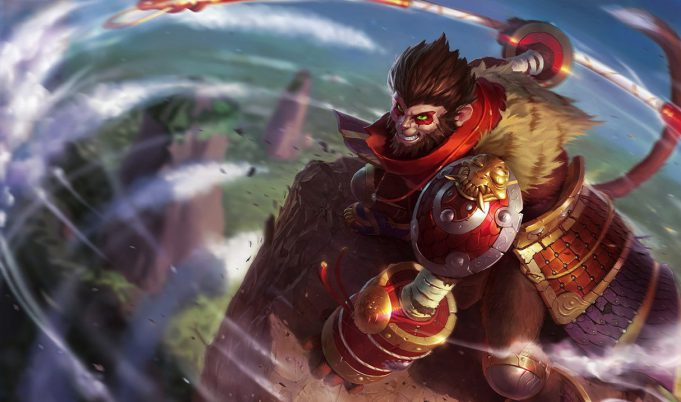 Wukong, el Rey Mono de League of Legends.