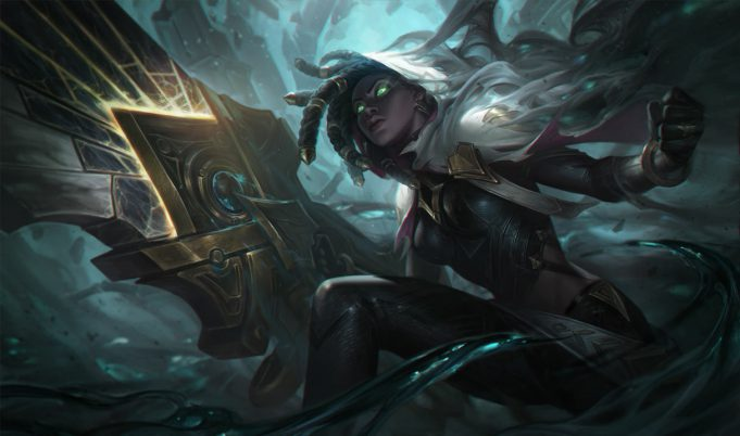 Senna, un AD Carry nerfeado en el 10.8 de League of Legends.