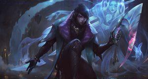 Aphelios, uno de los mejores campeones en bot de League of Legends.
