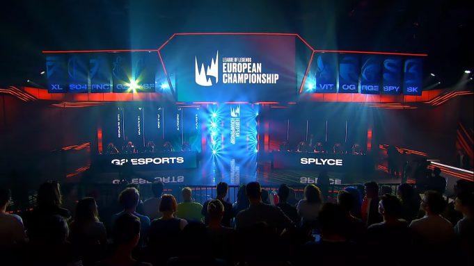 Imagen de la LEC de League of Legends.