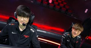 En partido de LCK 2020, Faker juega a League of Legends.