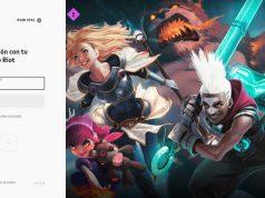 login league of legends riot games