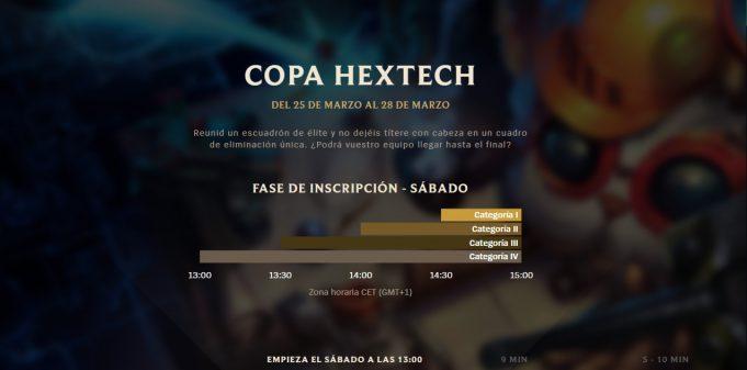 Copa Hextech, el nuevo Clash
