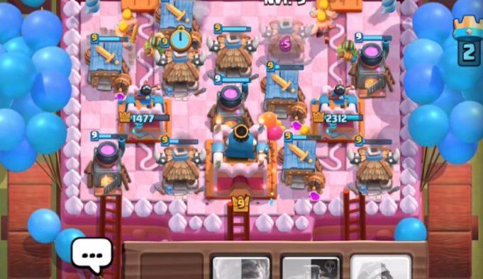 Clash Royale con x7 de elixir