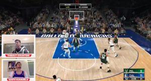 Courtois vs Hummels en el NBA 2K20