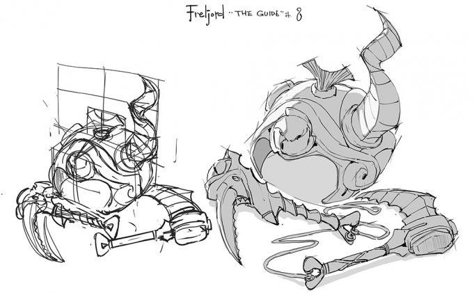 El posible casco de Aidyn, de League of Legends
