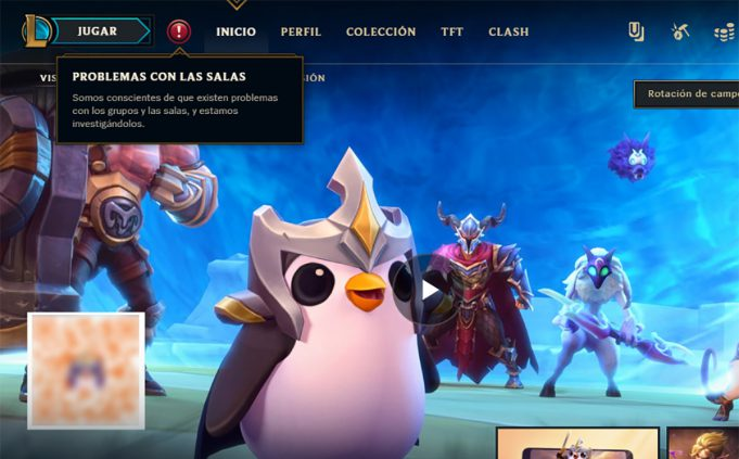 League of Legends cierre servidores cuarentena