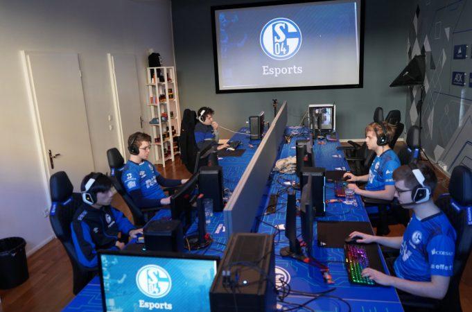 El Schalke durante la jornada online de LEC