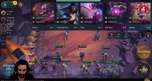 TFT móvil gameplay