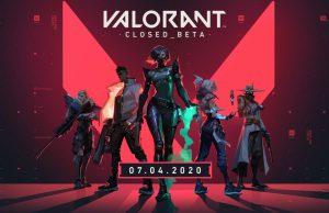 La beta cerrada de Valorant