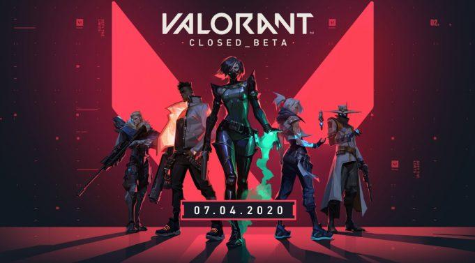La beta cerrada de Valorant.