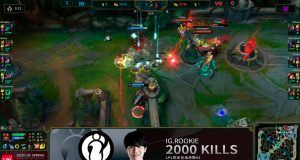 Rookie ha conseguido 2000 kills en el competitivo de League of Legends.