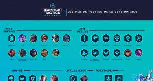 parche 10.9 teamfight tactics tft