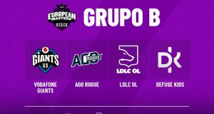 El grupo del European Masters de Vodafone Giants