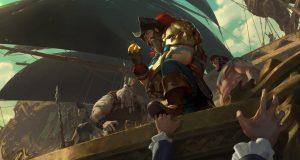 Gangplank Legends of Runeterra