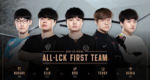 LCK MVP 2020 teddy clid bdd