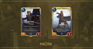 Legends of Runeterra Set 2 Quinn