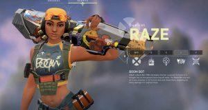 Raze nuevo agente en Valorant y habilidades