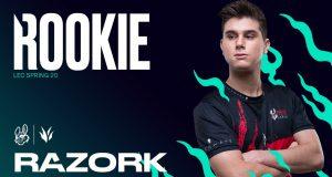 Razork, el rookie de LEC en el split de primavera de 2020