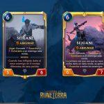 La doble carta de Sejuani, en Legends of Runeterra