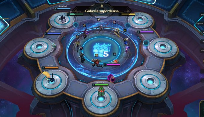 La galaxia superdensa, en TFT Teamfight Tactics