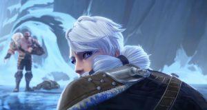 Tales of Runeterra, la imagen de Braum con su prima
