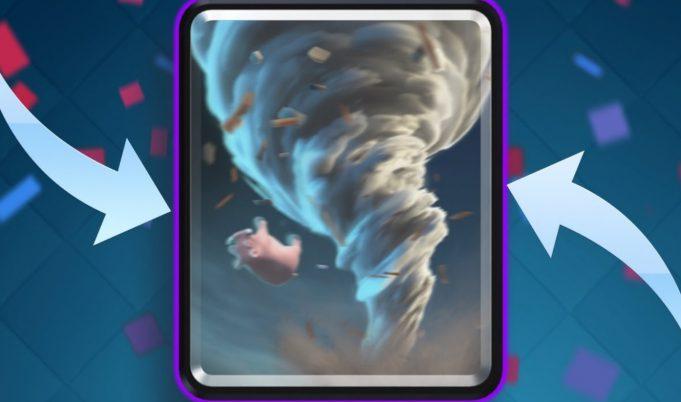 El tornado, en Clash Royale