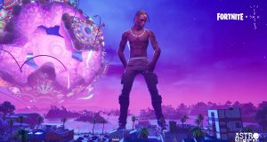 Travis Scott Fortnite astronomical récord
