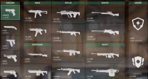 Todas las armas de Valorant