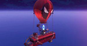 El nuevo bus de Fortnite, con Deadpool