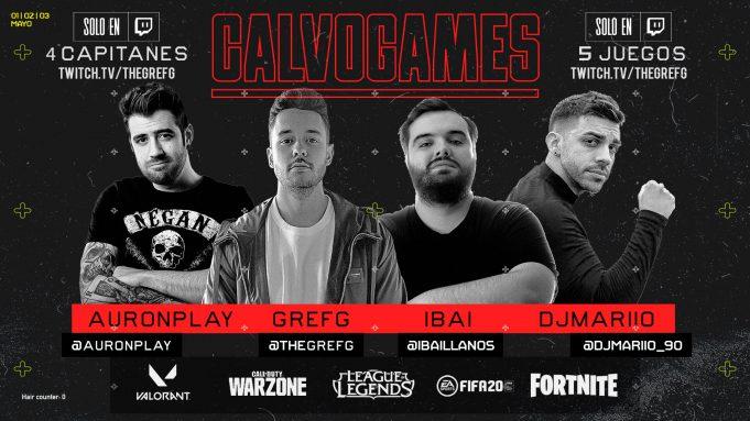 Presentación de Calvogames, el torneo benéfico contra el COVID-19.
