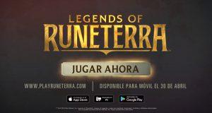 Legends of Runeterra móvil llegará el 30 de abril.