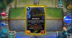 Maokai, nuevo campeón de Legends of Runeterra.