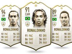 Ronaldinho, cerca de abandonar FIFA 20.