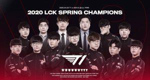 T1 (SKT), campeones de nuevo de la LCK de League of Legends.