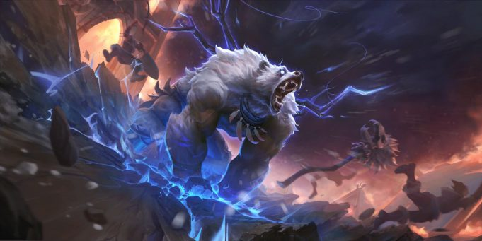 El rework de Volibear se acerca a League of Legends.