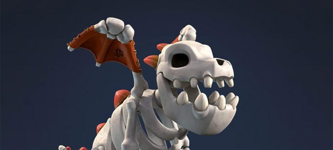 Dragon Esqueleto Clash Royale