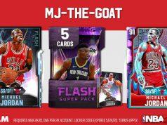 Sobres de Michael Jordan en el NBA 2k20