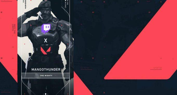 La tarjeta de jugador que regala Valorant, Mangothunder
