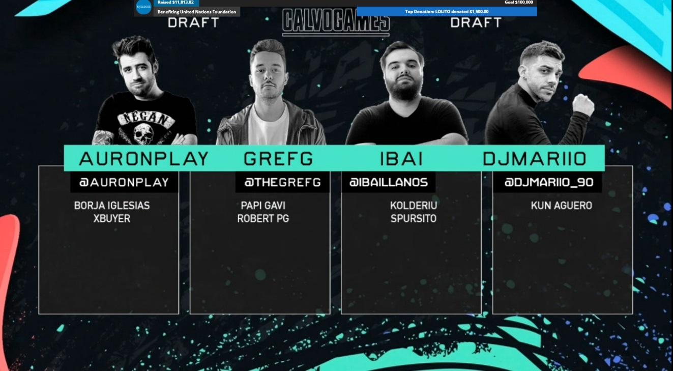 El draft de FIFA en los CalvoGames