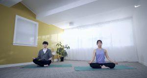 Faker y Nike, amigos del yoga