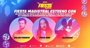 Festivales musica COVID-19 Fortnite