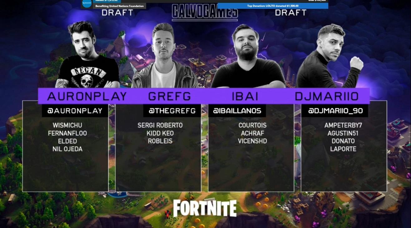 EL draft de Fortnite en los CalvoGames