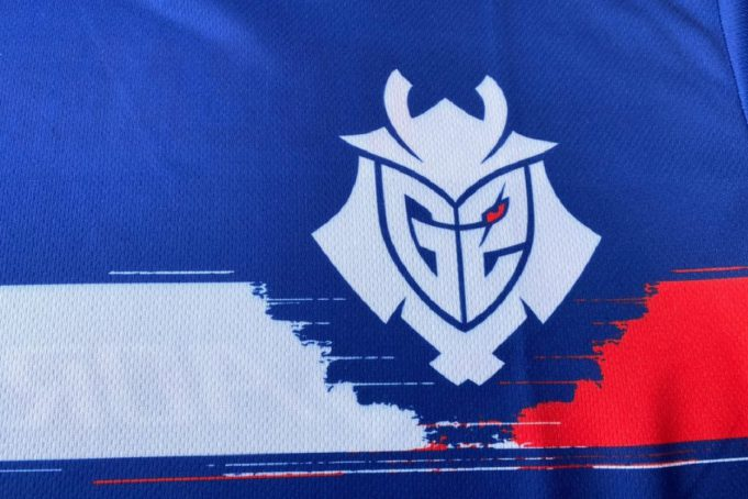 La camiseta francesa de G2 Esports