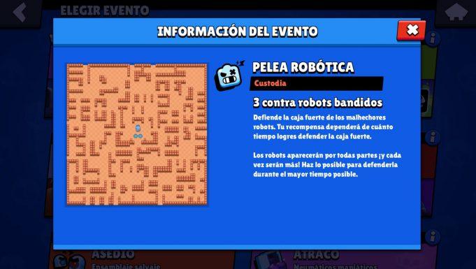Pelea Robótica tickets brawl stars