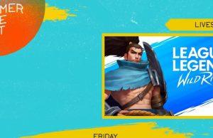 Wild Rift en el Summer Game Festival